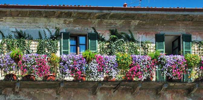 Emejing terrazzo fiorito tutto l anno contemporary amazing design balcone